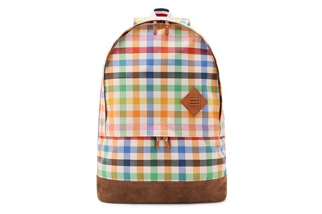Клетчатый рюкзак от Thom Browne Весна/Лето 2013