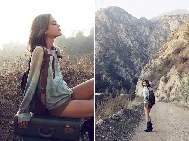 Лукбук «Into the Wild Daydream» от Wildfox Pre-Fall 2013
