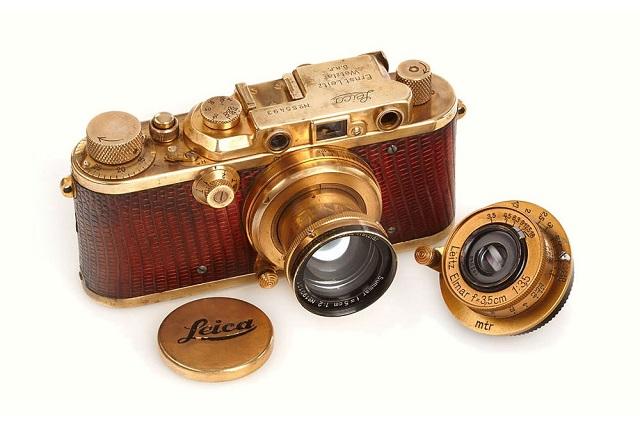 Luxus Leica 1931: фотоаппарат ценой 683 тысячи долларов
