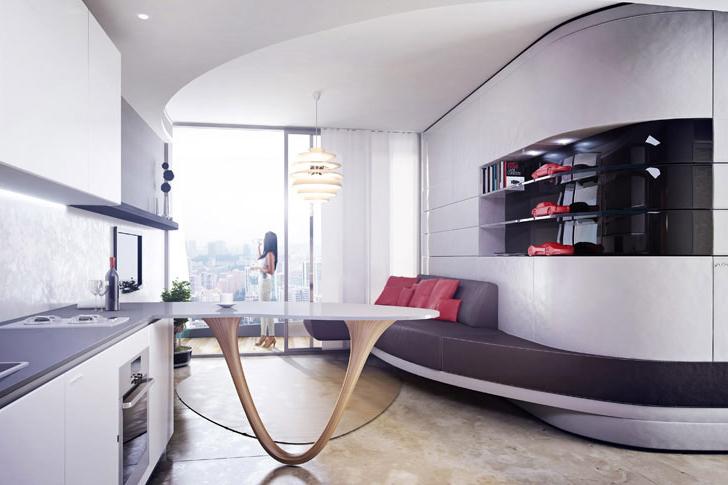 Жилой дом в Сингапуре по проекту кузовного ателье Pininfarina