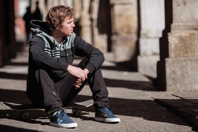 Осенний лукбук Adidas Skateboarding 2013