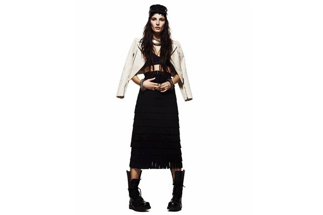 Ава Смит снялась для Flaunt Magazine Май 2013