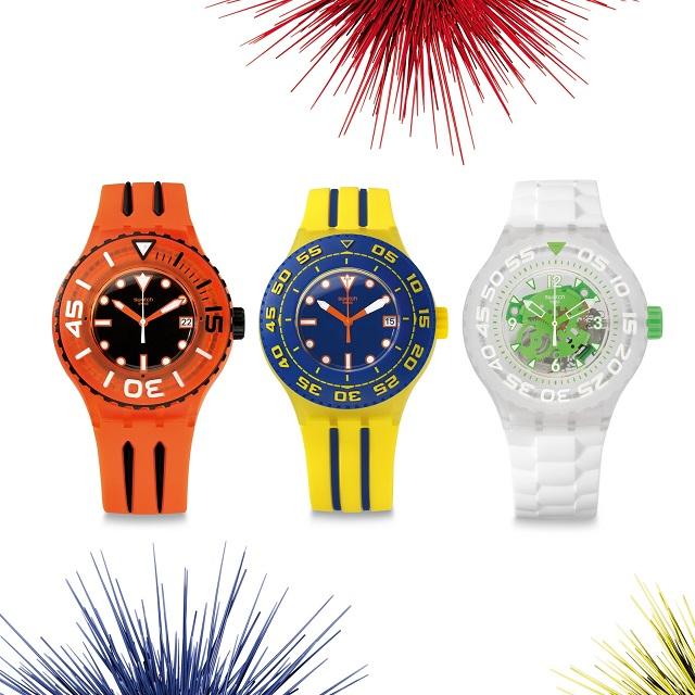 Без ума от моря: новые часы Scuba Libre от Swatch