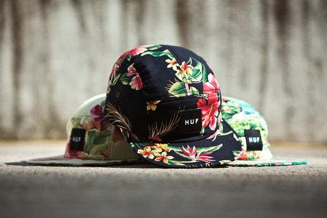 Новая коллекция кепок марки HUF Лето 2013