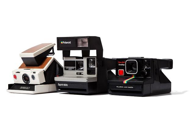 Винтажные камеры Polaroid от The Impossible Project