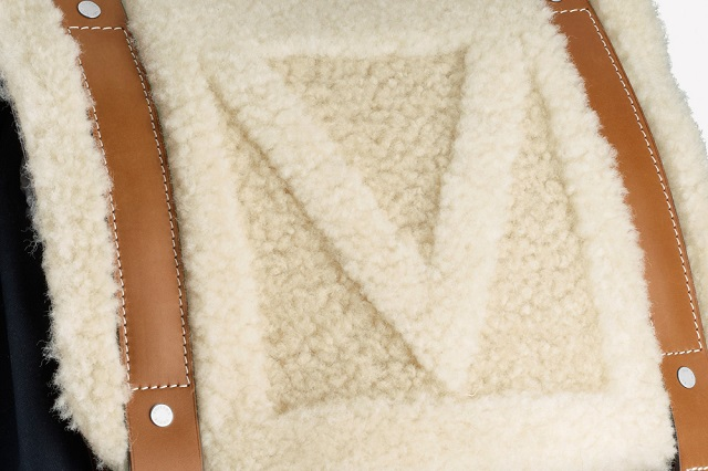 "Рюкзак Louis Vuitton ""Shearling"" Осень/Зима 2013"