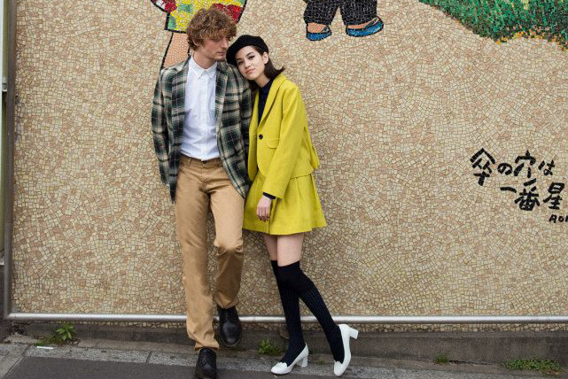 "Лукбук ""High School Lovers"" от Maison Kitsuné Осень/Зима 2013"