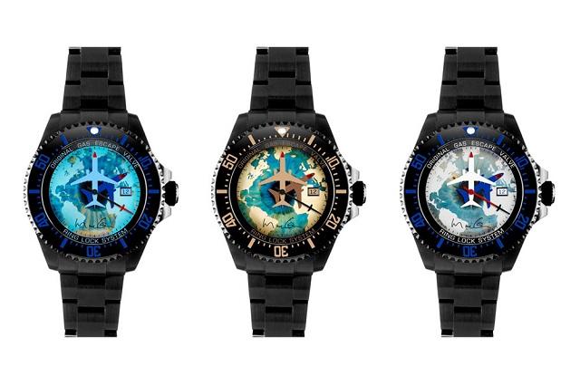 Марк Куинн и BAMFORD – коллекция Rolex Deepsea