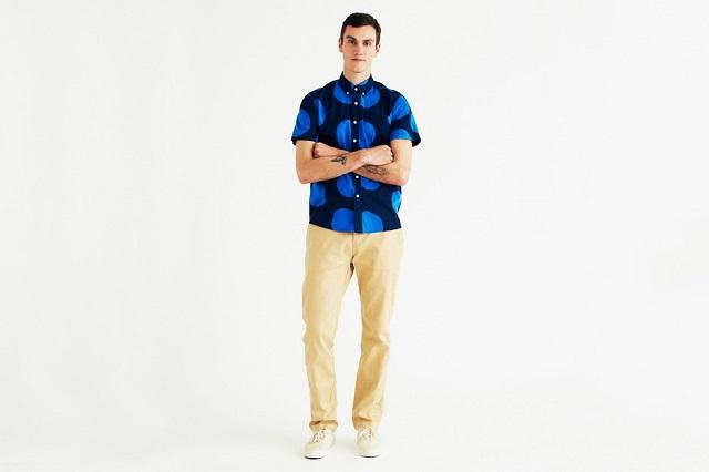 Марка Saturdays NYC выпустила лукбук летней коллекции одежды