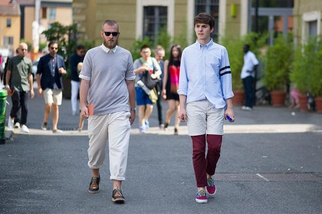 Уличный стиль: Неделя мужской моды в Милане S/S 2013. Часть II