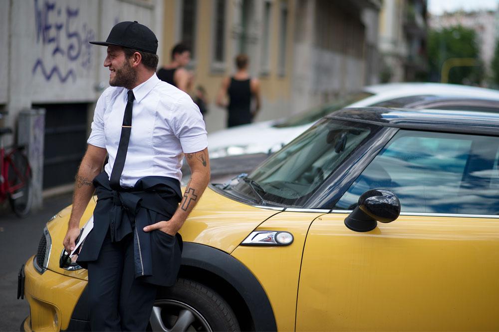 Уличный стиль: Неделя мужской моды в Милане S/S 2013. Часть III