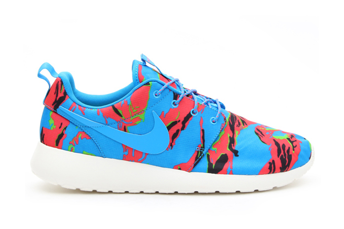 "Кроссовки Nike Roshe Run GPX ""Blue Hero Tiger Camo"""