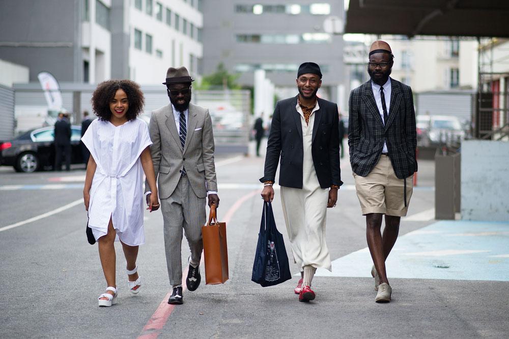 Уличный стиль: Неделя мужской моды в Париже S/S 2013. Часть I