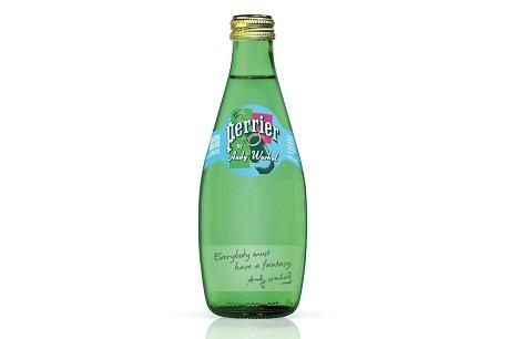 Лимитированная серия Perrier, посвящённая Энди Уорхолу