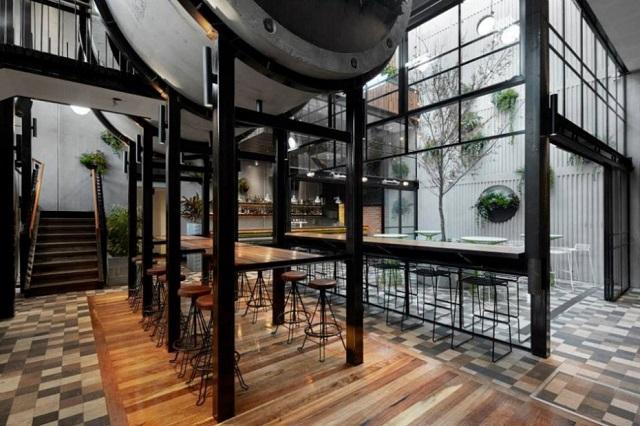 Prahran Hotel: креативный паб с бетонными трубами в Мельбурне