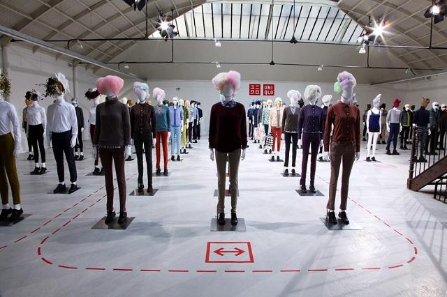 Презентация новой коллекции Uniqlo в Париже