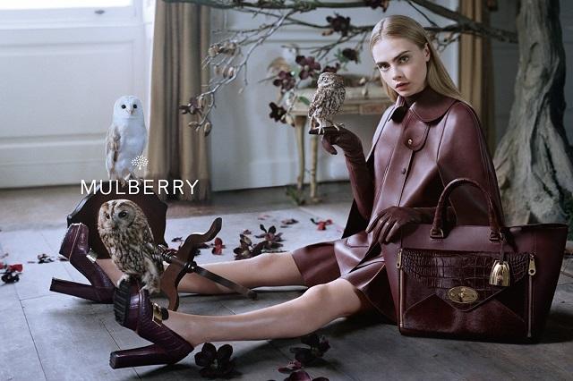 Рекламная кампания Mulberry Осень/Зима 2013