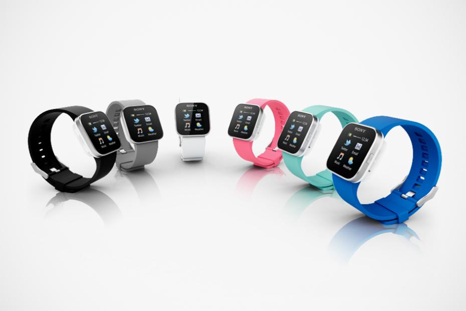 Наручные часы Sony SmartWatch поступили в продажу