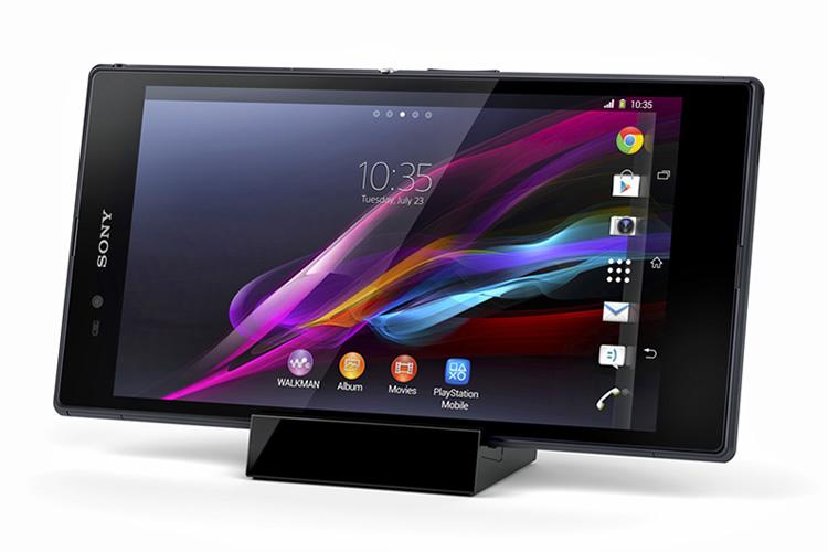 Sony анонсировала гигантский смартфон Xperia Z Ultra