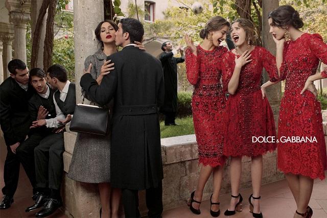 Осенняя рекламная кампания Dolce&Gabbana 2013