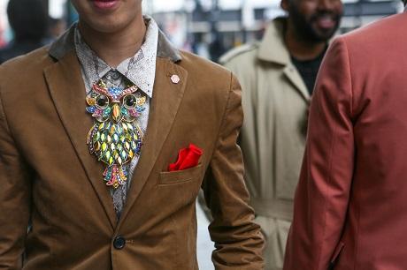 Уличный стиль: Неделя мужской моды в Лондоне S/S 2013
