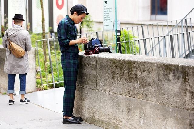 Уличный стиль: Неделя мужской моды в Париже S/S 2013. Часть II