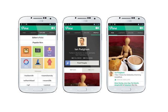 Vine теперь доступен для Android-устройств
