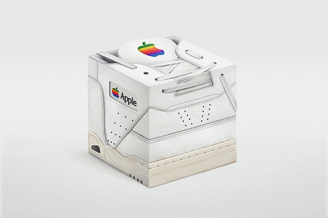 Vintage Apple Sneakercube от Павла Нолберта