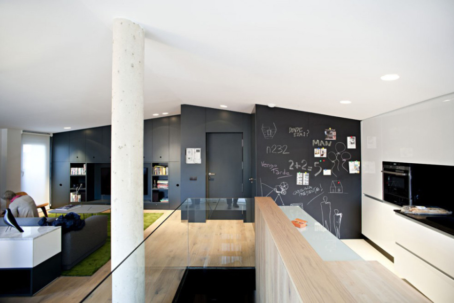 Дуплекс-пентхаус в Испании от студии n232 Arquitectura