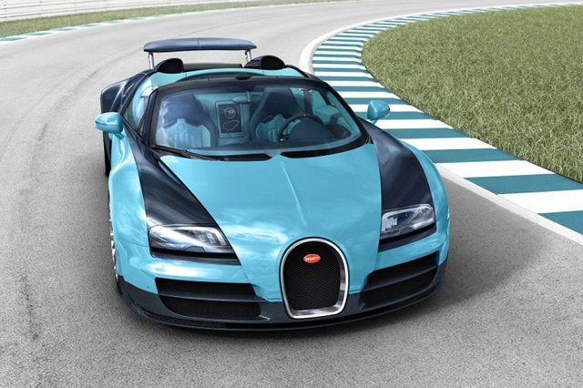 Bugatti выпустит шесть «легендарных» спецверсий Grand Sport Vitesse