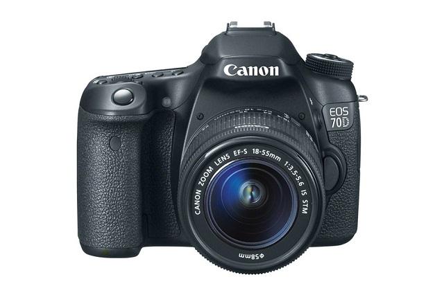 Canon EOS 70D с модулем Wi-Fi для фотографов-любителей