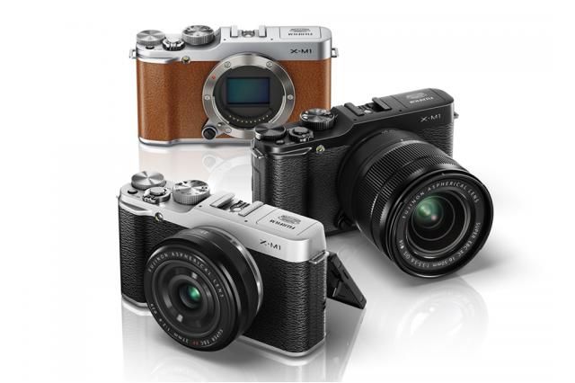 Компактные системные камеры Fujifilm X-M1