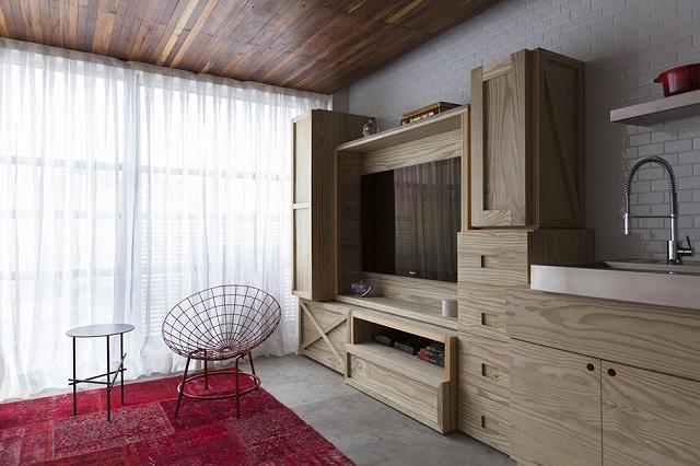 Квартира площадью 36 кв. метров в Бразилии