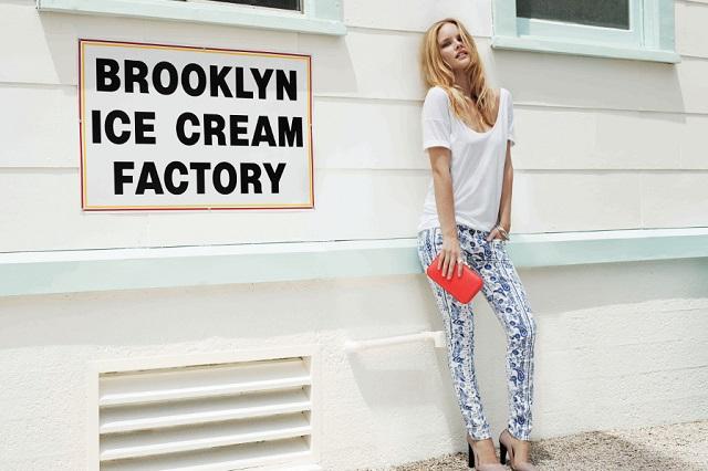 Летняя джинсовая коллекция бренда Rebecca Minkoff 2013