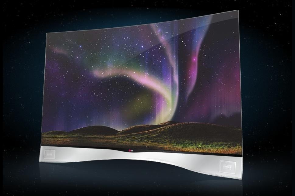 LG выпускает в США свой первый OLED HDTV с изогнутым экраном