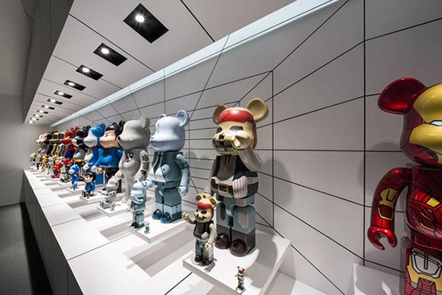Коллекция игрушек Bearbricks