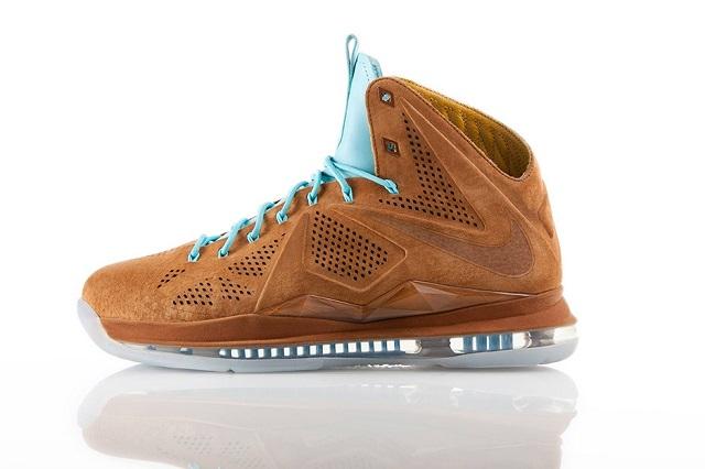 Кроссовки Nike LeBron X EXT Hazelnut