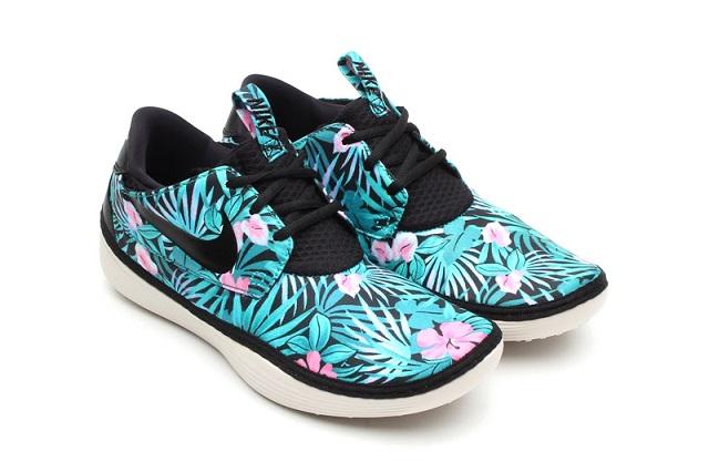 "Пак кроссовок Nike Solarsoft Moccasin ""Flower Print"""