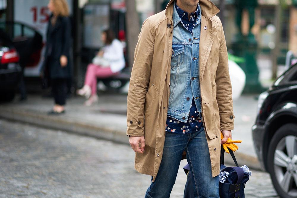 Уличный стиль: Неделя мужской моды в Париже S/S 2013. Часть IV