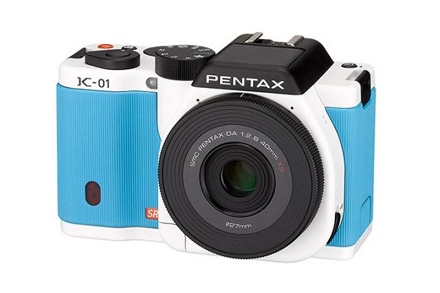 Pentax K-01 со сменными объективами от Марка Ньюсона