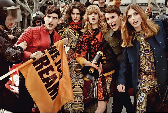 Рекламная кампания Just Cavalli Осень/Зима 2013
