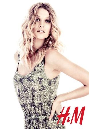 Тони Гаррн для рекламной кампании H&M Лето 2013