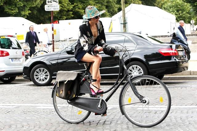 Уличный стиль: Неделя Haute Couture в Париже Лето 2013