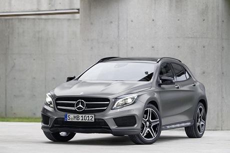 Mercedes-Benz GLA выйдет на рынок в начале 2014