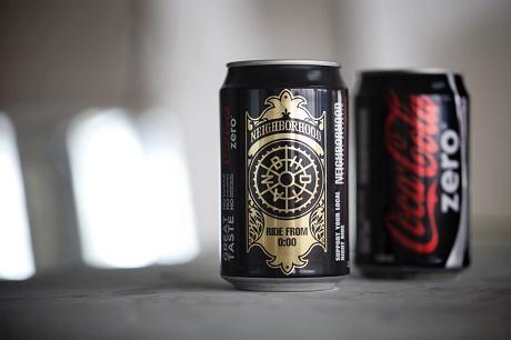 Новый дизайн от NEIGHBORHOOD x Coca-Cola Zero