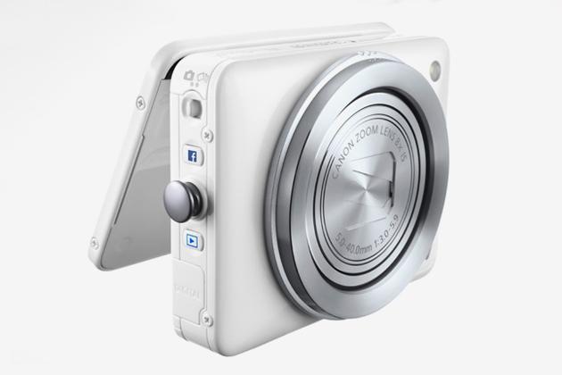 Камера Canon PowerShot N отправляет фотографии в Facebook нажатием одной кнопки