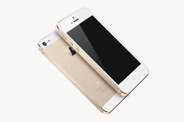 iPhone 5S засияет «золотом»