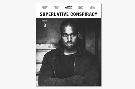 Канье Уэст для WeSC 'Superlative Conspiracy' Issue #8