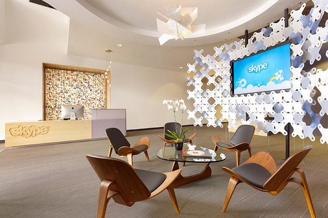 Штаб-квартира Skype в Пало Альто