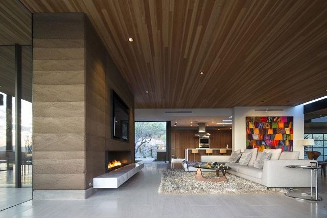 Частный дом Rammed Earth от студии Brent Kendle